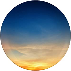 Ceramic Stoneware Dinner Plates,Sky Background On Sunset,dinner Plates For Indoor And Outdoor Use,break-resistant,8 Inch
