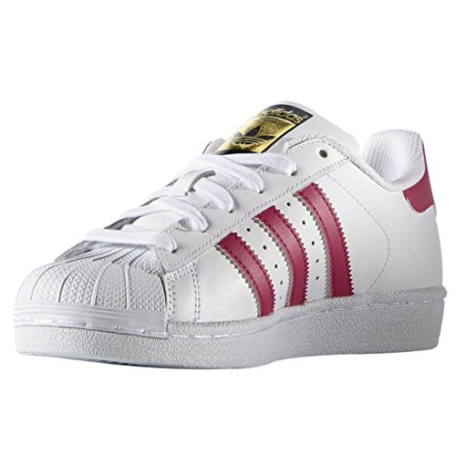 Adidas Superstar Foundation White Youths Trainers Size 4 UK