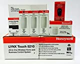 Honeywell Lynx 5210 Panel, (3) 5815, (1) 5800PIR-RES, (1) 5834-4, ZWAVE and 3GL