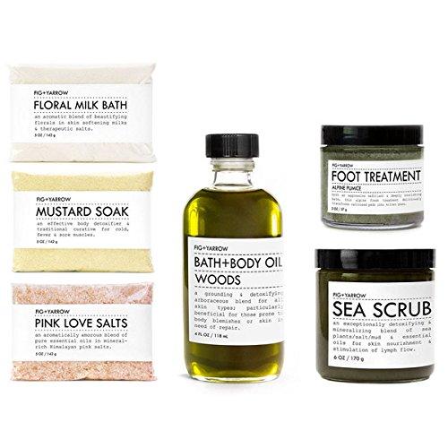 FIG+YARROW - Organic Bath + Body Kit (Sea / Woods)