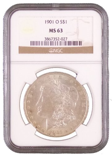 1901 O Morgan Dollar NGC MS-63