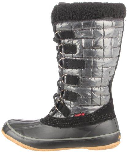 SCARLET Schwarz schwarz Stiefel Boots KAMIK wqIE0T