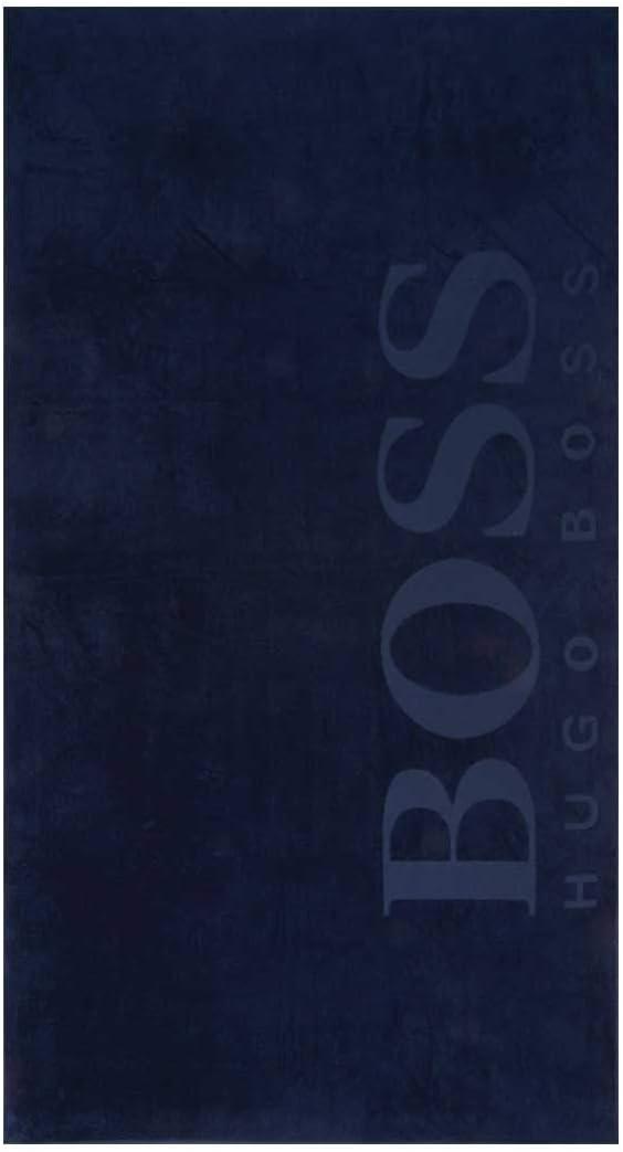 100x180cm Colour Hugo Boss Cobalt Hugo Boss Carved Beach Towel