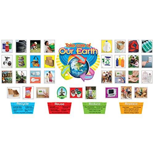Trend Enterprises Reduce, Reuse, Recycle Bulletin Board Set (T-8262) Photo #2