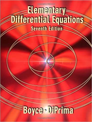 Elementary Differential Equations: Boyce, Richard C  DiPrima