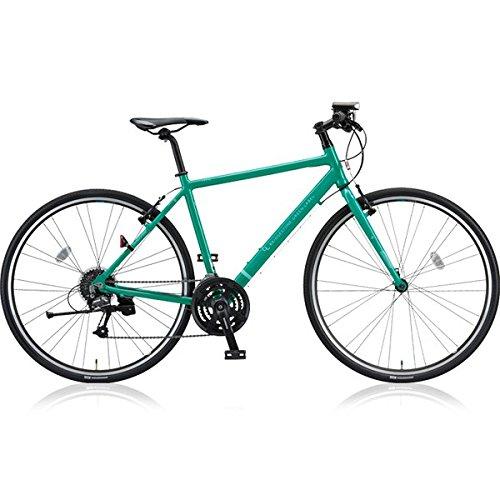 ブリヂストングリーンレーベル(BRIDGESTONE GREEN LABEL) クロスバイク CYLVA(シルヴァ) F24 VF2439 E.Xコバルトグリーン 390mm B076DWMSR5