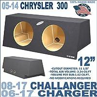 06-16 Dodge Charger, Challenger 08-15 & Chrysler 300 05-14 12 Sub Box Subwoofer Enclosure