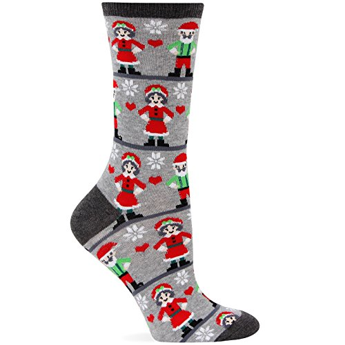 Hot Sox Mr. and Mrs. Claus (Mrs Claus Shoes)
