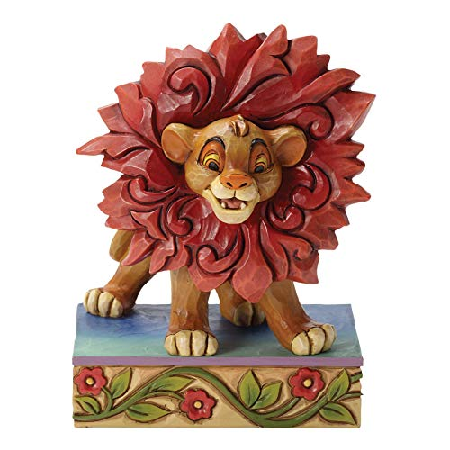 Enesco Disney Traditions by Jim Shore Simba from The Lion King Figurine, 3.875 in