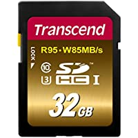 Transcend 32 GB High Speed 10 UHS Flash Memory Card (TS32GSDU3X)
