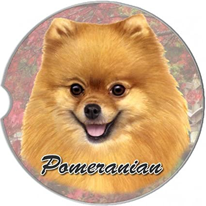 Amazoncom Es Pets Pomeranian Coaster 3 X 3 Pet Supplies