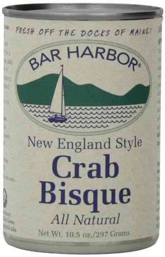Lobster Harbor Bar - Bar Harbor Crab Bisque, 10.5 Ounce (Pack of 6)