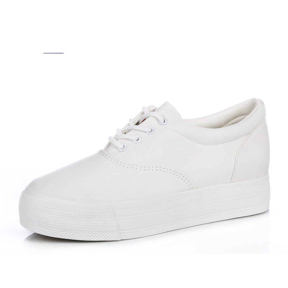 Chaussures infirmière blanc/Augmenté de chaussures avec des semelles épaisses/Les souliers-G Longueur du pied=22.3CM(8.8Inch) h4jEijGQ7D
