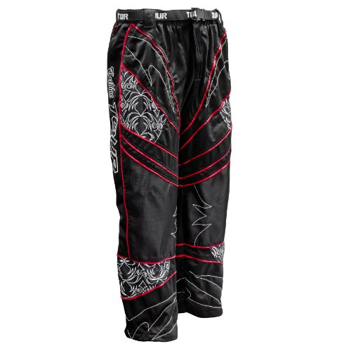 In Line Roller Hockey Pants - Tour Hockey Adult Cardiac Pro Pants (Red, X-Large)