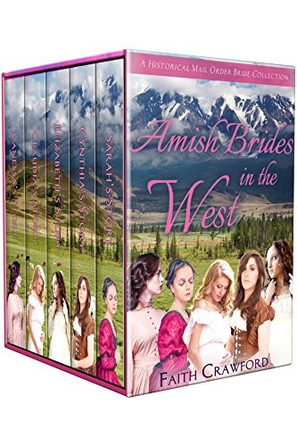 Amish Brides in the West: A Historical Mail Order Bride Collection cover
