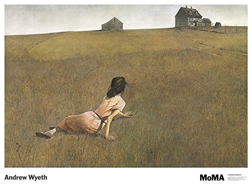 Christina's World by Andrew Wyeth Art Print, 36 x 27 (Wyeth Contemporary Print)