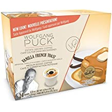 Wolfgang Puck Coffee Single Serve Cups,Flavored Coffee Vanilla French Toast, 24 Count