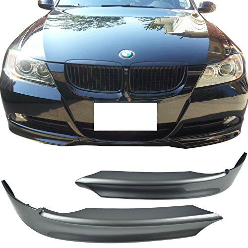 Pre-painted Front Splitter Lip Fits 2006-2008 E90 | OE Style PP Painted #A22 Sparkling Graphite Metallic Front Splitter Lip Other Color Available By IKON MOTORSPORTS | ()