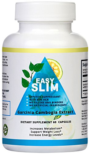 Pure Garcinia Cambogia Extract 80% HCA. Best Organic Supplement For Weight Loss. 60 Diet Pills. FDA Approved Factory. 100% Money Back Guarantee!