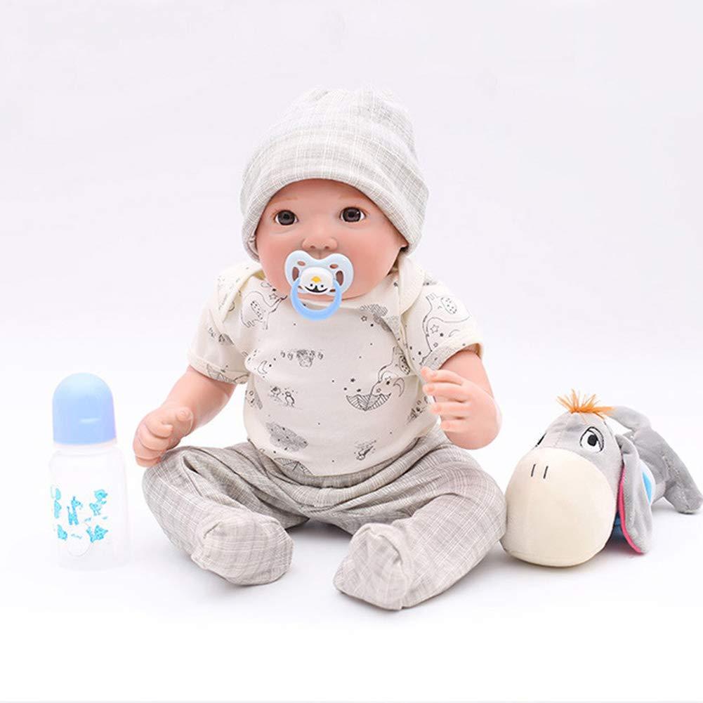 9164b8dd OTARDDOLL Muñeca Muñeca Muñeca Reborn 20'' Lifelike Simulación Pintada a  Mano Lovely Baby Juguete Regalo Colección Muñeca 50cm,Limas de Silicona +  Cuerpo de ...