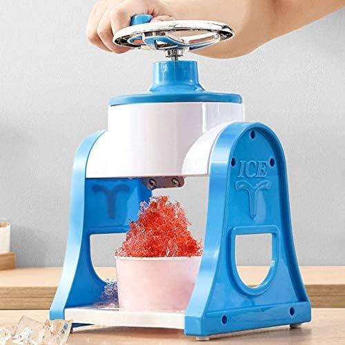 かき氷機 電動かき氷機 家庭用 パーティーDIYアイスクリームキャンディーフラッペのためのポータブルハンドクランクかき氷機、使用することをホームミニマニュアルアイスクラッシャー、リムーバブル&イージー、