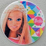 "Barbie Edible Wafer Cupcake / Cookie Toppers Licensed by Decopac ~ Pre Cut 2 1/2"" Round BUY TWO GET THIRD FREE!"