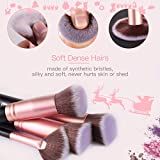 BESTOPE Makeup Brushes 16 PCs Makeup Brush Set
