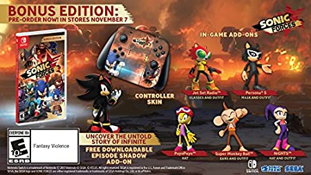 Sonic Forces Bonus Edition - Nintendo Switch