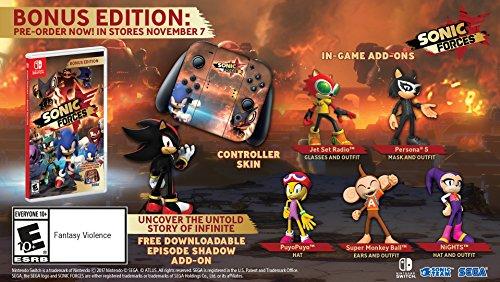Sonic Forces Bonus Edition   Nintendo Switch