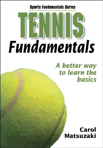 Tennis Fundamentals Sports Human Kinetics product image