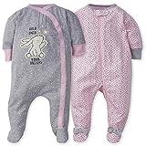 Gerber Baby Girls' 2-Pack Sleep 'N Play, Bunny