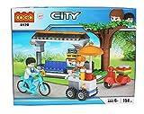 Tickles Cogo City Building Blocks Models 154 Pcs(Blue)