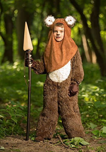 Princess Paradise Boys' Classic Star Wars Premium Wicket Jumpsuit, Brown, (Ewok Halloween Costumes)