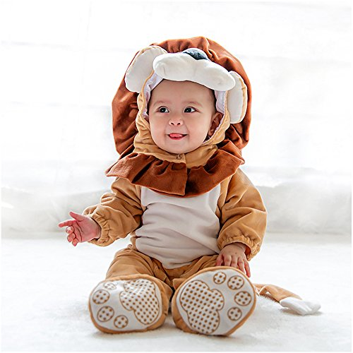 18 Month Old Lion Costume (MagicQK Christmas Toddler Costume from 3M to 3-Year Old (18-24 Months(2T)/M/30