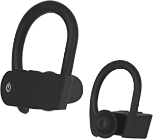 Bluetooth 5.0 TWS Wireless Earphones IPX5 Waterproof Three Different Technology Bluetooth Headphones with HiFi Stereo Sound in Ear Earphone for Ap-ple iPhone/Air-pods/Android/Samsung