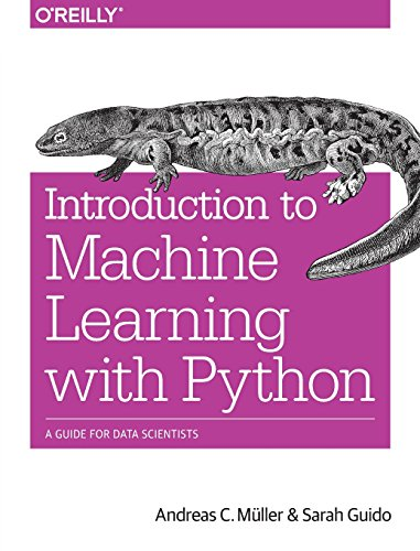 Price comparison product image Introduction to Machine Learning with Python: A Guide for Data Scientists
