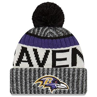 Baltimore Ravens New Era 2017 NFL Official Sideline Sport Knit Hat