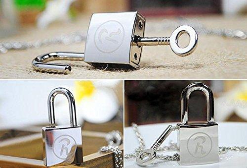 Ren Lock + Key Necklace Cosplay Yazawa Anime Lovers Couples