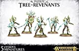Age of Sigmar Sylvaneth Tree-Revenants (5 figures) by AOS