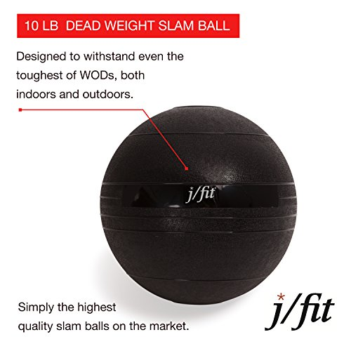 jfit-Dead-Weight-Slam-Ball-Medicine-Ball-Wall-Ball-Strength-Conditioning-CrossFit-WODs-Plyometric-Core-Training-Cardio-Workouts-for-Muscle-Build-Balance-Ideal-for-Squats-Lunges-Wall-Slam-Exercises
