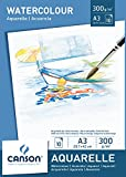 Canson A3 Watercolour pad including 10 sheets of white cold pressed watercolour pap