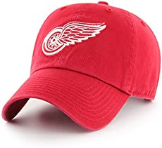 d2c021fe361 New Detroit Red Wings T-Shirt Cotton Big   Tall Logo Wings Hockey ...