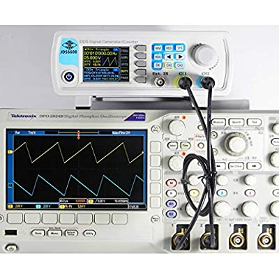HoHome DDS Signal Generator Counter,60MHz Dual-Channel Function Arbitrary Sine Waveform