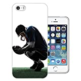 003462 - American Football Player Design iphone SE / iphone 5 5S Fashion Trend CASE Gel Silicone All Edges Protection Case Cover