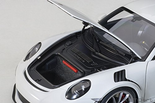 Amazon.com: Porsche 911 (991) GT3 RS White with Dark Grey Wheels 1/18 Model Car by Autoart 78166: Toys & Games