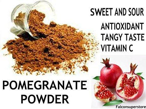 Dried Pomegranate Seed Powder/ Anardana Powder / Spice Seasoning Health (1000gm) by DivineTM