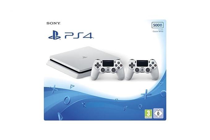 Sony 9830467 juego para PC Blanco 500 GB Wifi - Videoconsolas (PlayStation 4, Blanco, 8000 MB, GDDR5, AMD Jaguar, AMD Radeon): Amazon.es: Videojuegos