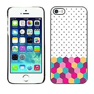- Girl Cute Pattern - - Caja del tel???¡¯????fono delgado Guardia Armor FOR iPhone 5 / 5S Devil Case