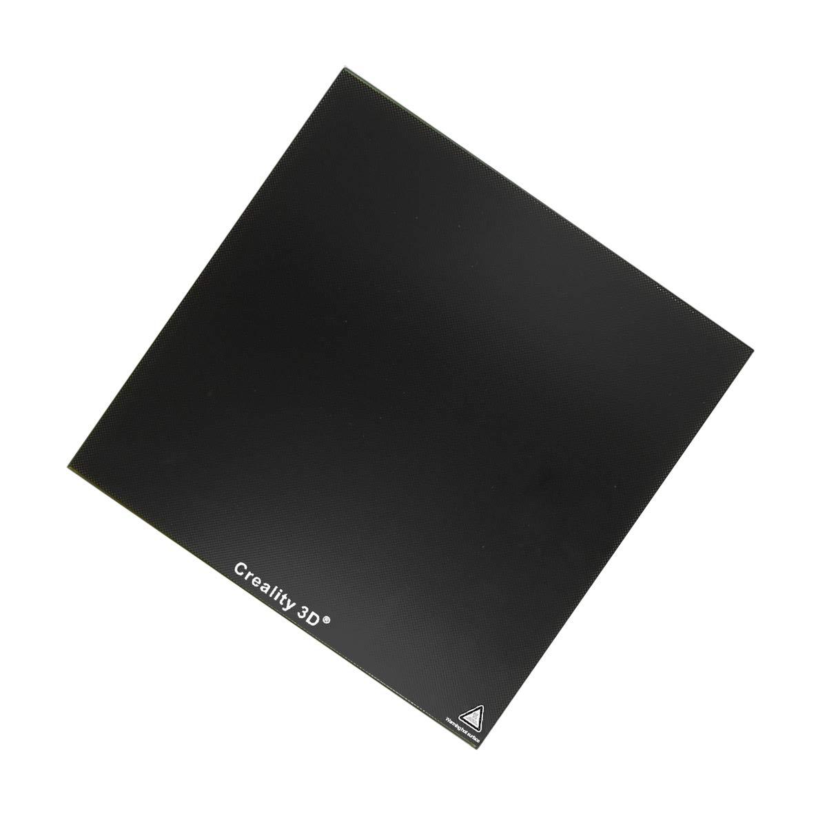 Wisamic stampante 3D in vetro letto/ /235/x 235/x 3/mm Creality tempered glass riscaldata letto calore letto per stampanti 3D Ender 3