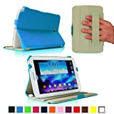 Fintie ClickBook Series Folio Hardback Case with Built-in Stand Auto Wake/Sleep for Samsung Galaxy Note 8.0 inch Tablet GT-N5100 / N5110 - Blue